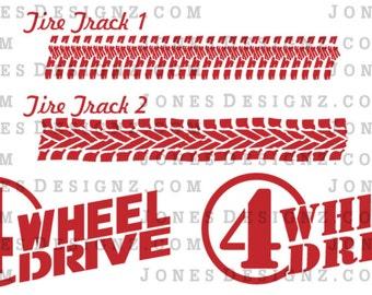 SVG 4 Wheel Drive | Vector | EPS | SVG files | Jeep svg | Digital Download | jeep shirt | jeep sticker