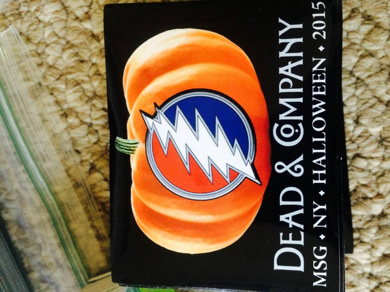 Dead And Company Madison Square Garden Halloween 2015 Sticker