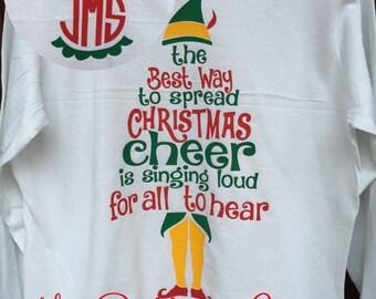 Elf christmas shirt | Etsy