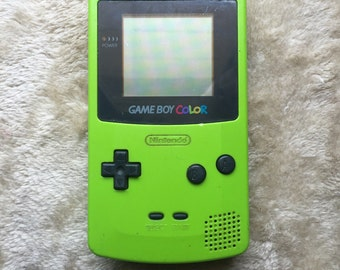 Rare Kiwi Green Gameboy Color