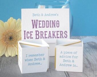 Wedding Game - Wedding Table Game - Wedding Ice Breaker - Table Activity for Wedding - Ice Breaker Game - Wedding Table Decoration