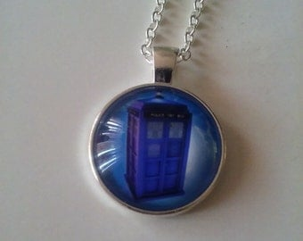 Dr. Who Necklace