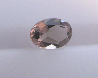 Smoky quartz .40 ct.  oval cut loose faceted gemstone