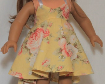 """American Girl 18"""" Doll Swing Halter Dress Free Shipping and 10% off!"""