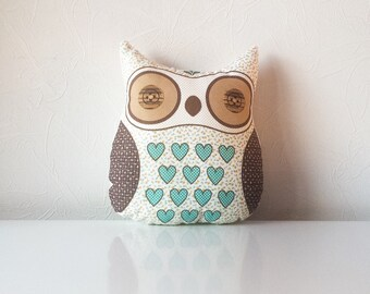 Free shipping, owl toy, stuffed owl