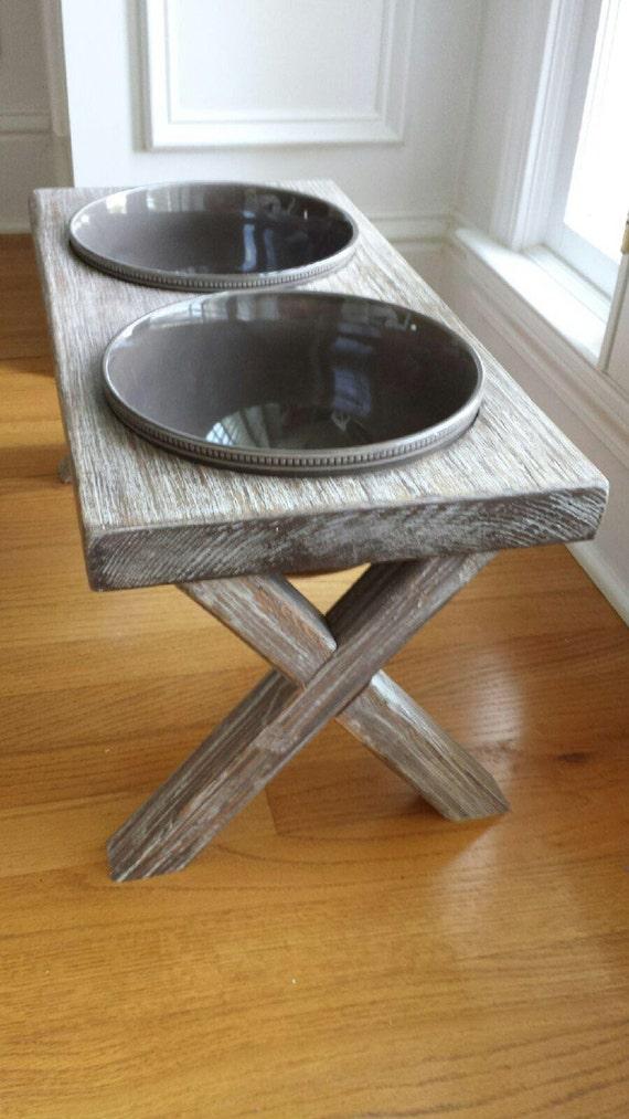 Xl Raised Dog Bowl Feeder Farm Table Elevated Feeder