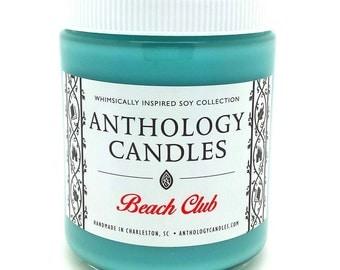 Beach Club Candle - Anthology Candles - Disney Candles - 8 oz Jar
