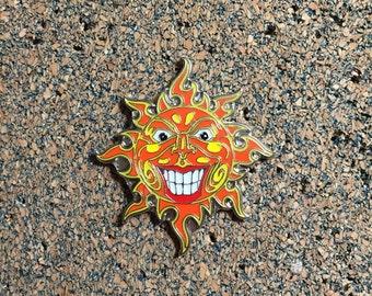 Sun Lapel/ Hat Pin