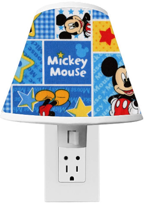 Mickey mouse clubhouse nightlight room decor - Mickey mouse clubhouse bedroom curtains ...