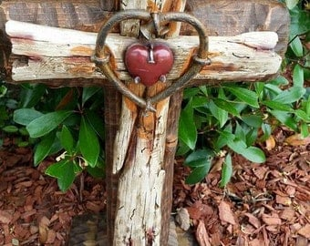 12X24 Rustic Cross w/Base