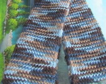 Hand weave wool scarf SCAR 013