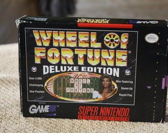 Wheel of Fortune Deluxe Edition for Nintendo SNES