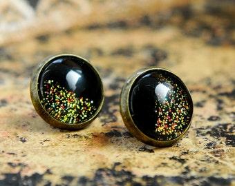stud earrings, black studs, black stud earrings, tiny studs, tiny stud earrings, mens earrings, black men earrings, black studs earrings