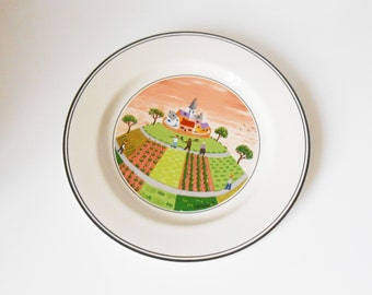 Villeroy & Boch - bread plate - naive Theme