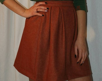 Four pleated skirt