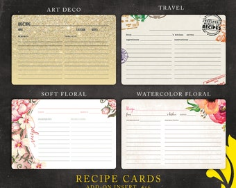 ADD-ON . recipe card . 4x6