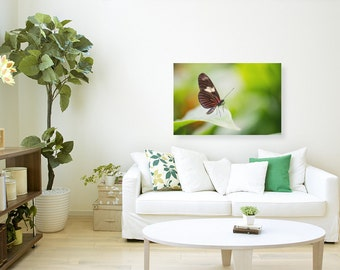 Moment of Inspiration, Butterfly Photography, Canvas Print, Paper Print, Nature Photography, Wall Art, Home Decor, Office Decor
