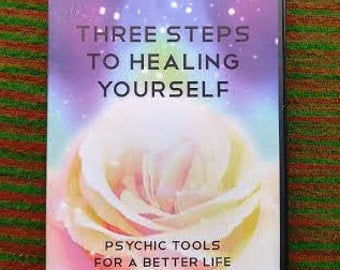 Three Steps to Healing Yourself, Psychic Tools for a Better Life by Laura Peppard 3 cd set
