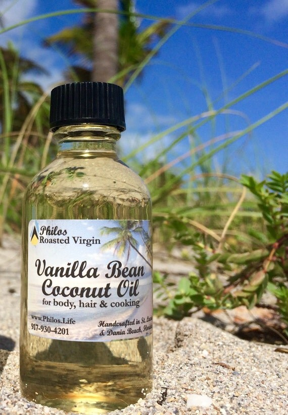 Vanilla Bean Coconut Oil