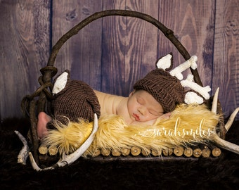 Crochet Deer Hat & Pant With Tail