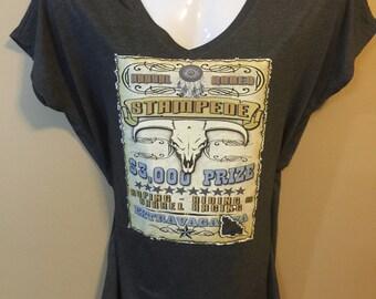 Ladies tee; ladies top; tshirt; women's tee; womens shirt; western; rodeo; GlitterNGrit designs