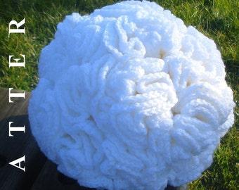 Ball Crochet Pattern Crochet Ball Pattern Hyperbolic Crochet Pattern Crochet Hyperbolic Pattern Snowball crochet Olga Andrew Designs 039