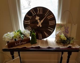 Faux Wall Clock