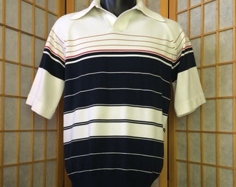 Vintage 1970's Relaxable Polo Golf Shirt Mens M