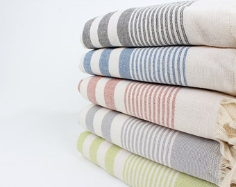 Cotton Terry Towels For Beach- Extra Soft