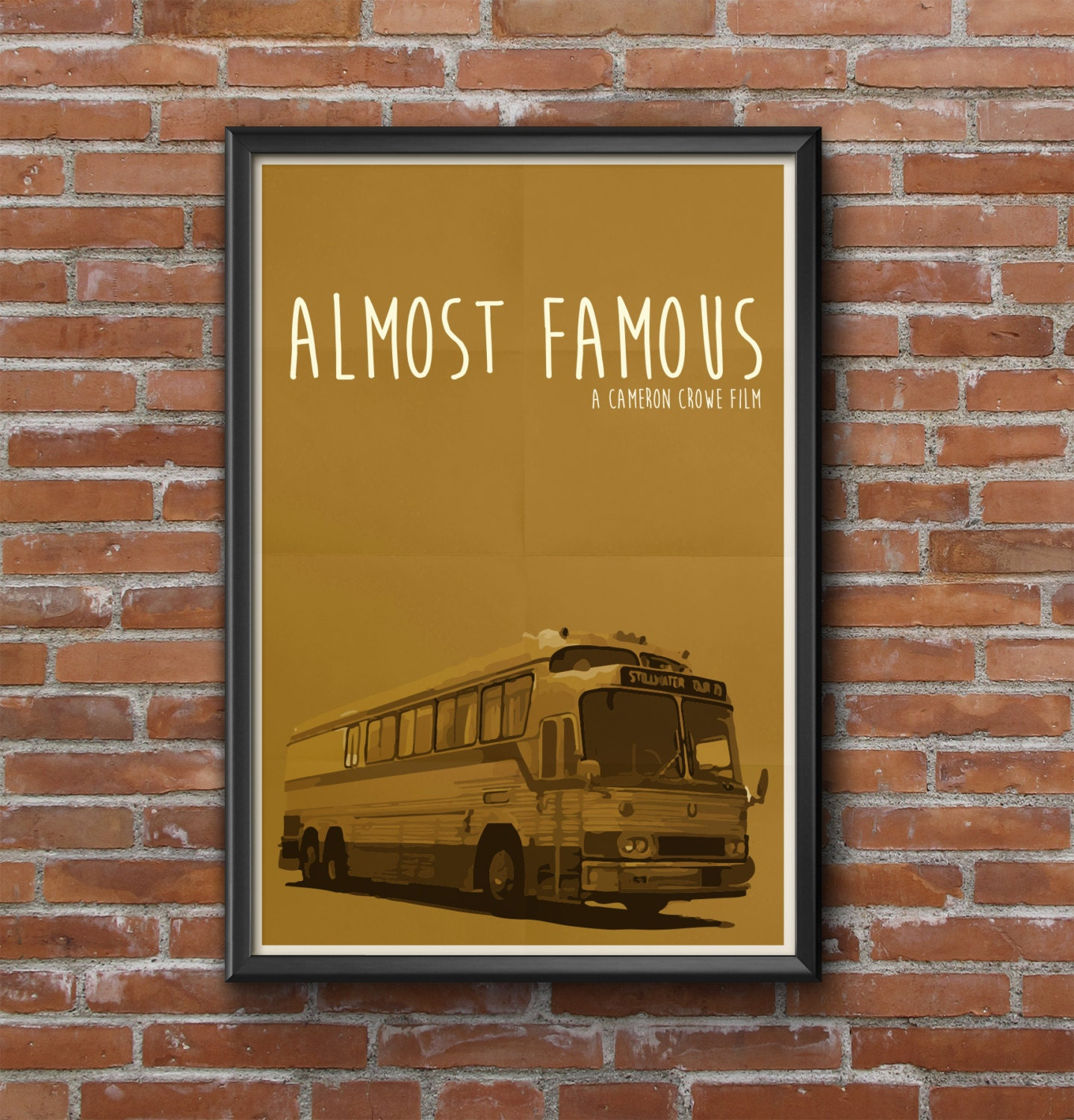 Almost Famous Movie Poster Cameron Crowe Billy Crudup Jason