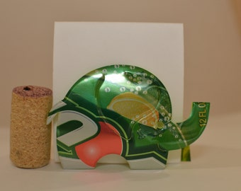 Elephant Magnet made from 7Up can