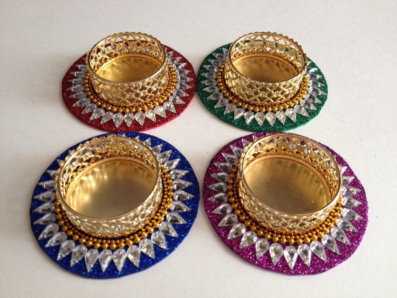 Diwali Diyas Indian Wedding Favors Boho Decorbollywood