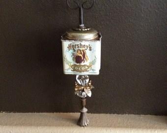 Hershey's Cocoa Vintage Handmade Tin Dècor