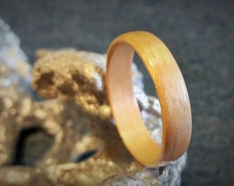 Maple Bent Wood Ring