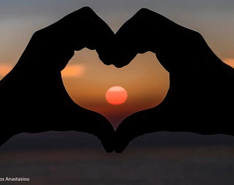The Sun Of My Heart, Sunset,Greek Island Ikaria