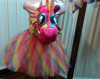 Sale- Horse Play - Hands Free Hobby Horse without a Stick- Fun, CUSTOM MADE ONLY. tutu extra