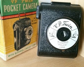 V. P. Twin camera Bakelite camera Vest Pocket size roll film