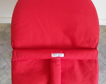Red-Baby bounce mesh baby bouncer cover,Australian made-*NEW*