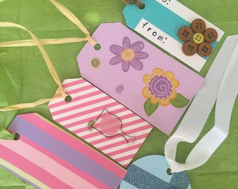 Gift tags, assorted set of 4