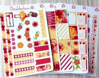 Golden One | Planner Stickers | Weekly Planner Sticker Set | Cute Girl Sticker Set