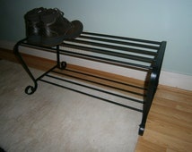 Wrought Iron (Forged Steel) Shoe Rack
