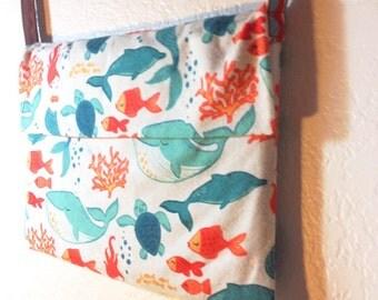 Mermaid Messenger Purse Bag