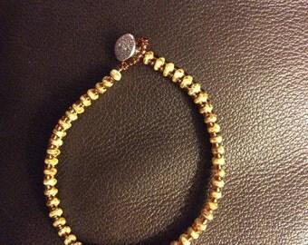 Single beaded bracelet