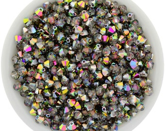 Vitrail Medium (3mm - 4mm) Swarovski Crystal 5328 XILION Bicones