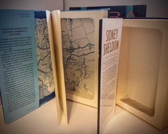 Hollow Book Safe Secret Storage Book - Secret Book - Made To Order Handmade Secret Book Safe w \ hidden storage compartment (Diversion Safe)