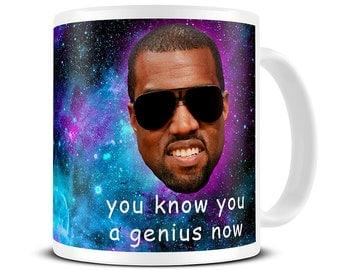 Graduation Gift for Students - Funny Mug - You Know You a Genius Now Coffee Mug - University Gift - Graduation Gift for Him - For Her MG566