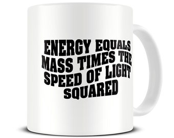 Science Gifts - Albert Einstein Theory Coffee Mug - science mug - MG472