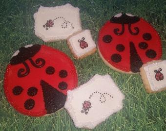 Dozen Ladybug Cookies
