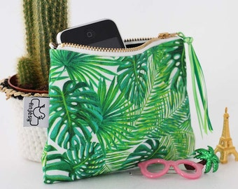 Zipper pouch,Coin purse,Original ANJESY designs,Mothers day gift.