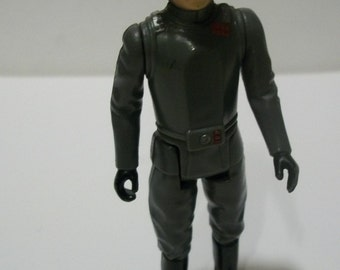 1980 Star Wars AT-AT Commander Kenner Empire Strikes Back Loose Action Figure  Wear On Nose - No Accessories